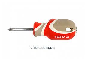 Отвертка крестовая YATO PH1 х 38 мм