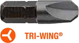 Насадка отверточная INDUSTRY USH TRI-WING TW0 x 25 мм 5 шт