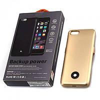 "Чехол павер банк Power Case iPhone 6s / 6g 4,7"" 3800 mAh золото"