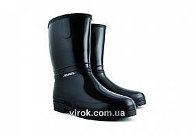Сапоги водонепроницаемые резиновые женские VOREL RAINNY BLACK размер 37