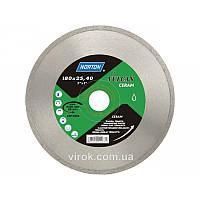 Диск алмазний VULCAN TILE по керамічній плитці: Ø= 180/ 22.23 мм