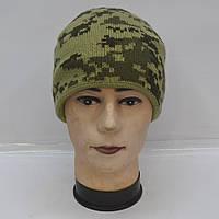 ШАПКА камуфляжная на флисе для активного отдыха или охоты и рыбалки - Код 105-46