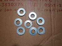 Тарелка пружины (шайба опорная) клапана нижняя (1шт) JAC-1020 (Джак)