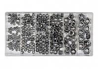 Гайки М3- М10 нержавіючі YATO в пластиковій коробці, наб. 300 шт.