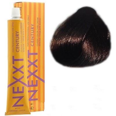 Крем-краска для волос Nexxt Professional 3.0 темный шатен, 100 мл.