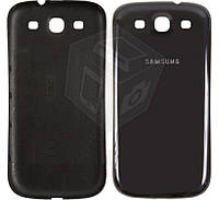 Задняя крышка батареи для Samsung Galaxy S3 i9300, оригинал, черный