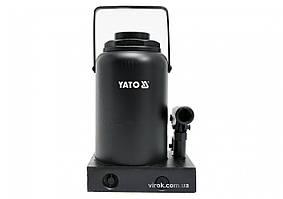 Домкрат гидравлический бутылочный YATO 50 т 300-480 мм