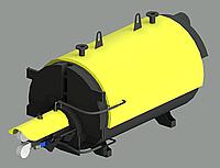 Котел твердотопливный, жаротрубный 100 - 1000 кВт с пеллетной горелкой