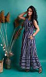 Очаровательное летнее женское платье в полоску 42-50рр., фото 2
