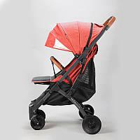 Прогулочная коляска YOYA Plus Pro, рама графит, расцветка Красная