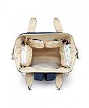 Рюкзак для мамы Yoya Dearest темно-синий, фото 3
