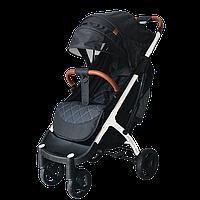 Yoya Plus Max 2020  Чёрная (рама чёрная и белая) детская коляска Йойа Плюс Макс