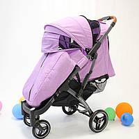 YOYA Plus Pro Premium детская прогулочная коляска фиолетовая (454446366)