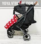 YOYA Plus Pro Premium детская прогулочная коляска Минни Маус, фото 2