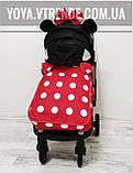 YOYA Plus Pro Premium детская прогулочная коляска Минни Маус, фото 4
