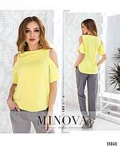 Модная женская блузка на лето Размеры 42,44,46, фото 2