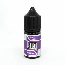 Chaser Pamberry – вкусное сочетание ароматной черники с терпким гранатом, клубникой и ноткой ежевики.