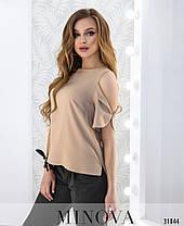 Модная женская блузка на лето Размеры 42,44,46, фото 3