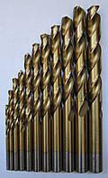 Сверло ц/х d4,2 c титановым покрытием ГОСТ 10902-77