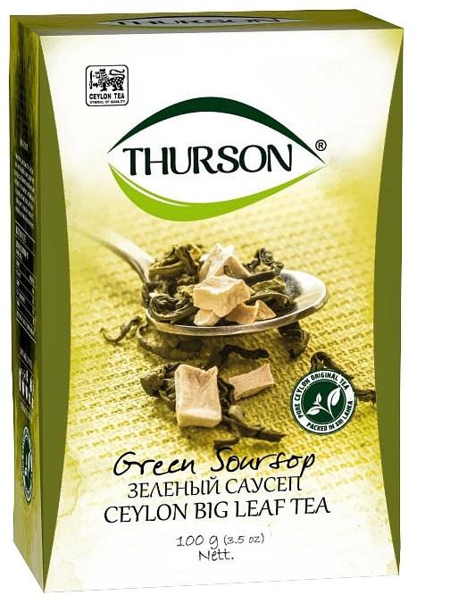 Рассыпной чай Thurson зеленый Саусеп 100 грамм