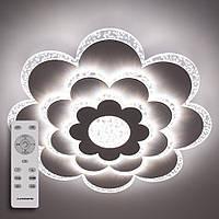 Потолочный светодиодный светильник с пультом ДУ LUMINARIA CAMILLA 75W F500 CLEAR/BULB 220V IP44