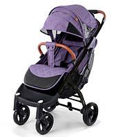 Yoya Plus Max 2020 Фиолетовая (рама чёрная и белая) детская коляска Йойа Плюс Макс