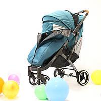 YOYA Plus Pro Premium детская прогулочная коляска морская волна 456373