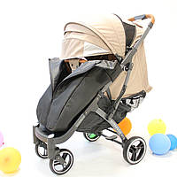 YOYA Plus Pro Premium детская прогулочная коляска бежевая (454444446366)