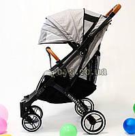 YOYA Plus Pro Premium детская прогулочная коляска Серый лён
