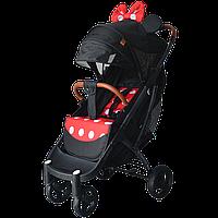 Yoya Plus Max 2020  Минни Маус (рама чёрная и белая) детская коляска Йойа Плюс Макс
