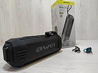 Портативная колонка Bluetooth Awei водонепроницаемая Чёрная (Y-280)