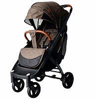 Yoya Plus Max 2020 Шоколад (рама чёрная и белая) детская коляска Йойа Плюс Макс
