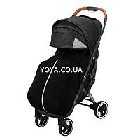 YOYA Plus Pro Premium детская прогулочная коляска Чёрная