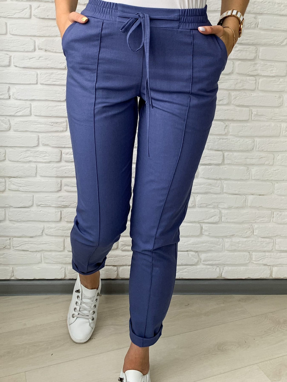 Женские брюки льняные,брюки женские,штаны женские