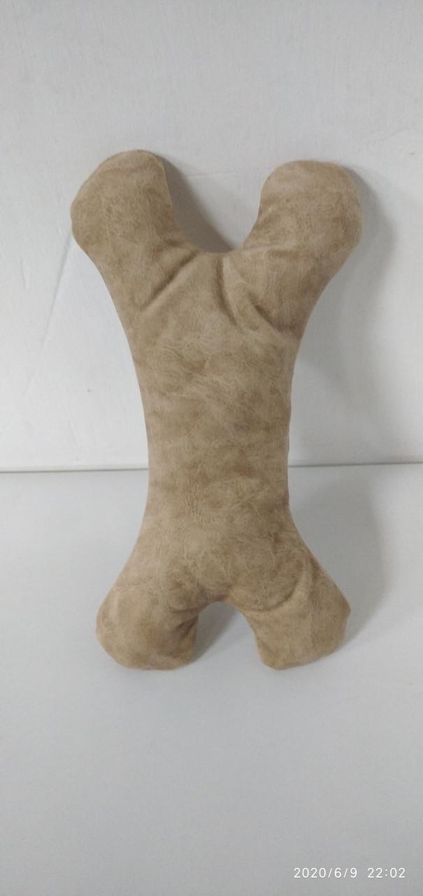 Игрушка для собак КОСТОЧКА / коричневый