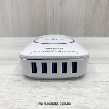 Безпровідний зарядний пристрій Moxom KH-50Y (білий), фото 3