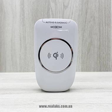 Безпровідний зарядний пристрій Moxom KH-50Y (білий), фото 2