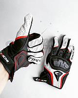 Мотоперчатки. Летние перчатки для мотоциклиста. Кожа. Taichi RS T390