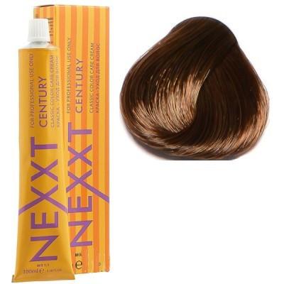 Крем-краска для волос Nexxt Professional 6.7 темнорусый коричневый, 100 мл.
