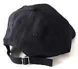 Кепка детская хлопковая Animals (50-52 см) черная, фото 2