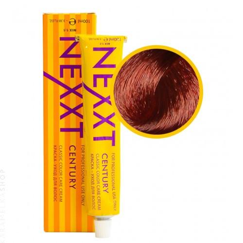 Крем-краска для волос Nexxt Professional 6.56 темнорусый краснофиолетовый, 100 мл.