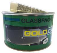Шпатлёвка со стекловолокном GOLD CAR GLASS  1,7 кг