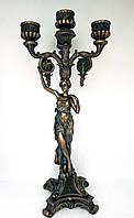 Подсвечник античная девушка Veronese