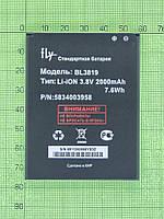 Аккумулятор BL3819 Fly IQ4514 Quad EVO Tech4 2000mAh, copyAA (реально 1500mah)