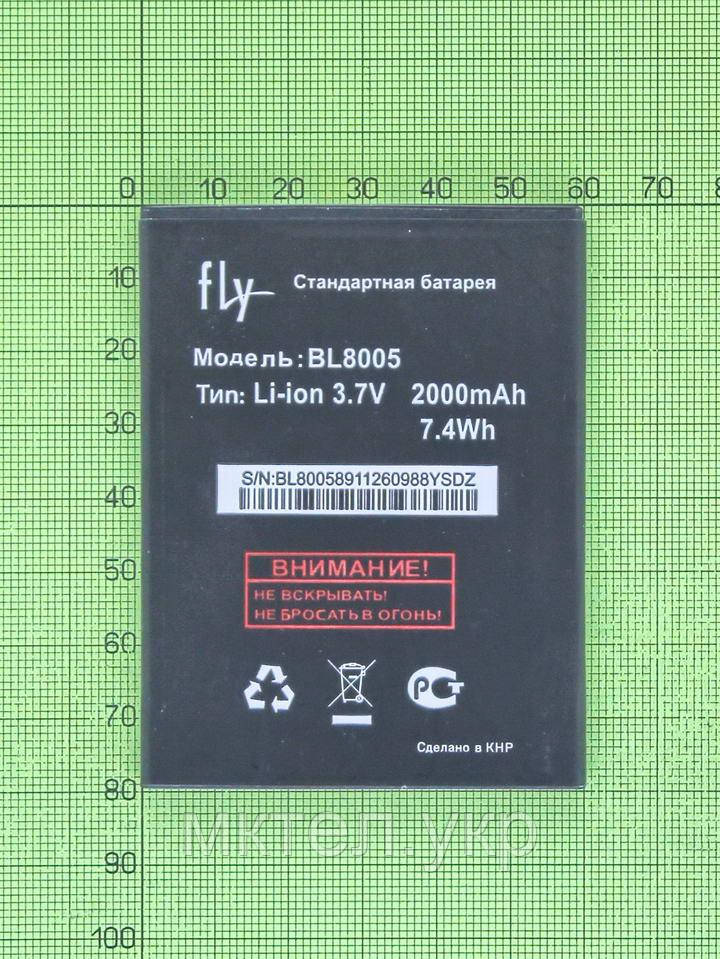 Аккумулятор BL8005 Fly IQ4512 Quad ERA Chic 4 2000mAh, copyAA