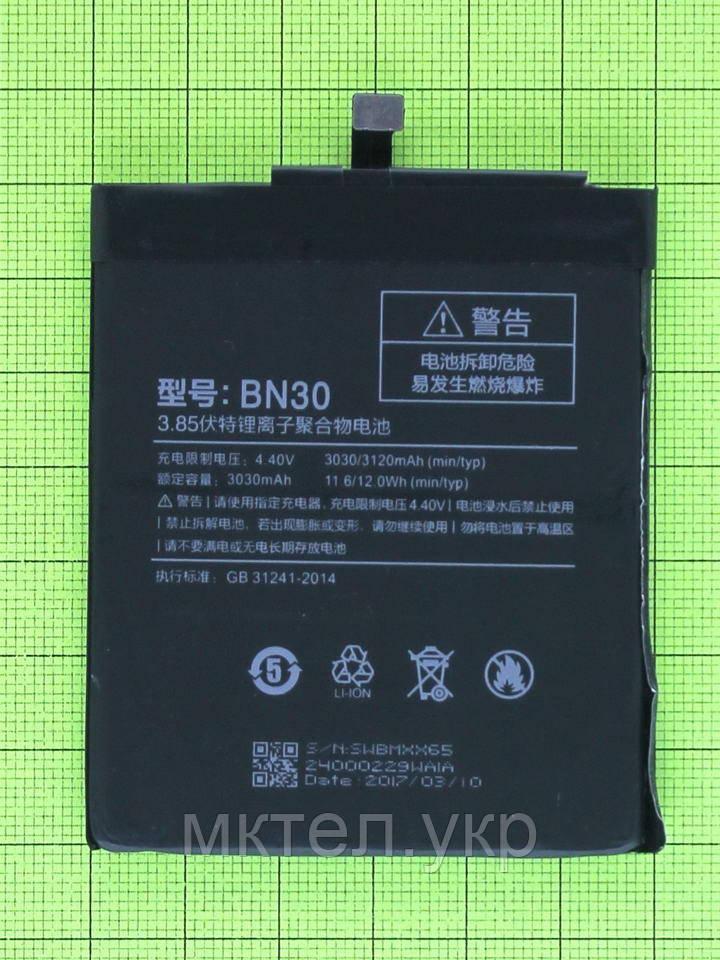 Аккумулятор BN30 Xiaomi Redmi 4A 3030mAh, copyAAA - фото 1