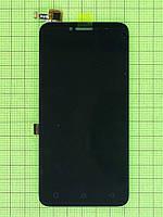 Дисплей Lenovo A Plus (A1010a20) с сенсором, черный self-welded