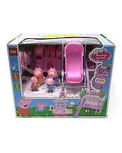 Игровой набор Свинка Пеппа с замком и коляской