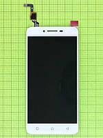 Дисплей Lenovo K5 plus (A6020a46) с сенсором, белый self-welded