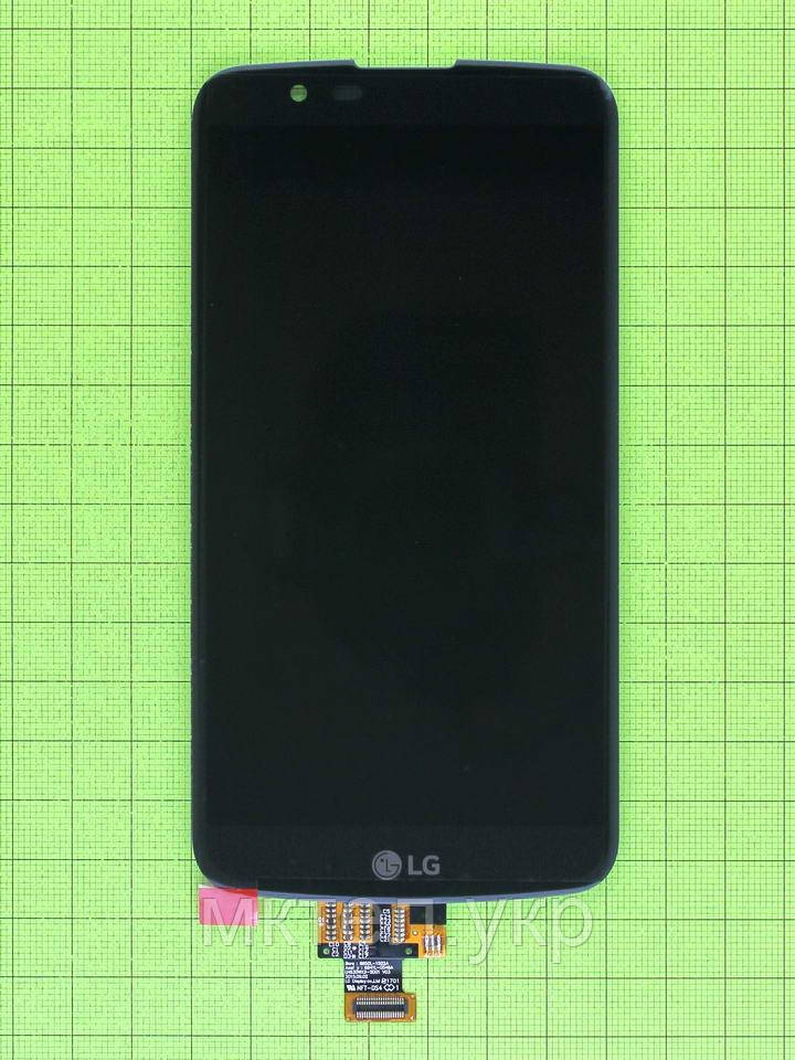 Дисплей LG K10 K420N с сенсором, черный orig-china